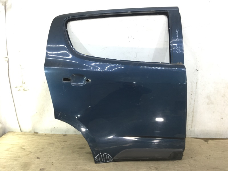 Дверь Chevrolet Trailblazer 2 2012 задняя правая