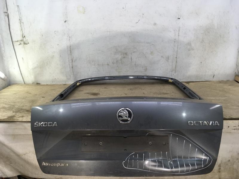 Крышка багажника Skoda Octavia 3 A7 2013