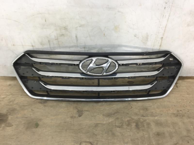 Решетка радиатора Hyundai Santa Fe 3 2012