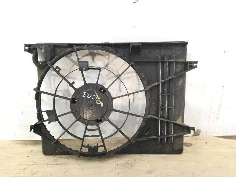 Диффузор вентилятора Kia Sportage 3 2010