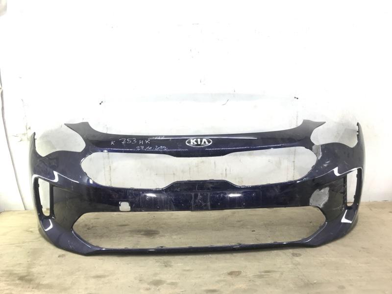 Бампер Kia Stinger 1 2017 передний