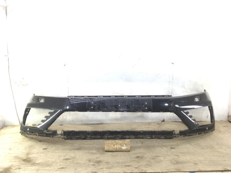 Бампер Volkswagen Touareg R-Line 2 NF 2014 передний