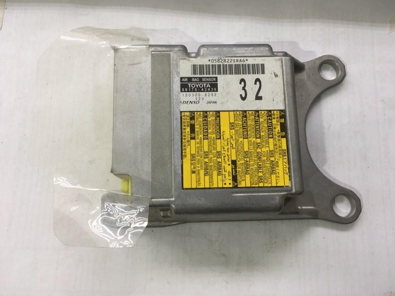 Блок управления air bag Toyota Rav4 40 2012