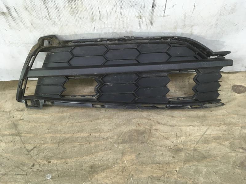 Решетка в бампер Skoda Karoq 1 2020 передняя правая