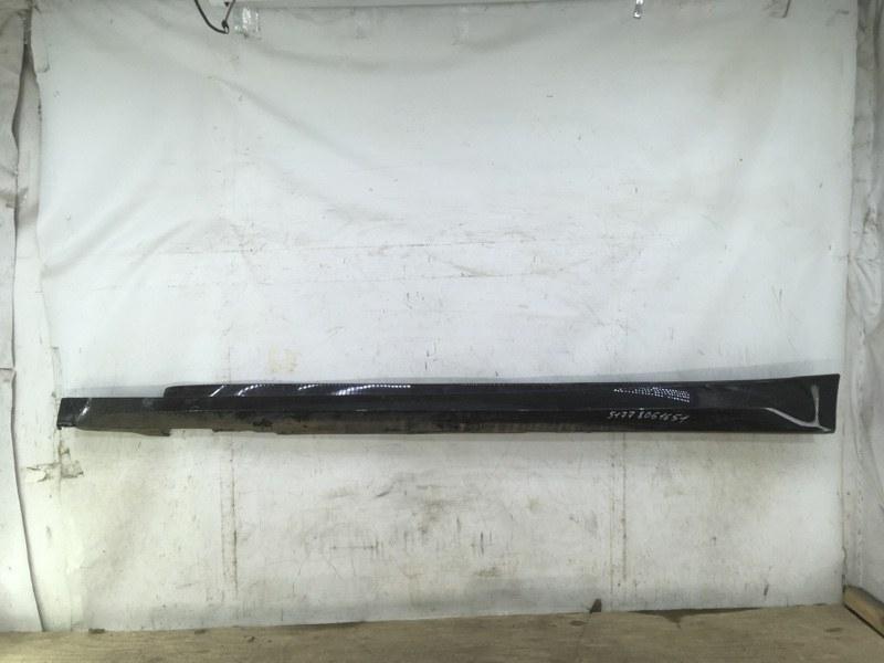 Накладка порога Bmw 3 F34 2013 левая