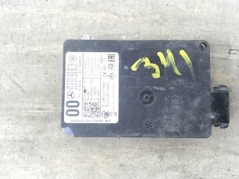 Радарный датчик Mercedes Ml W166 2011