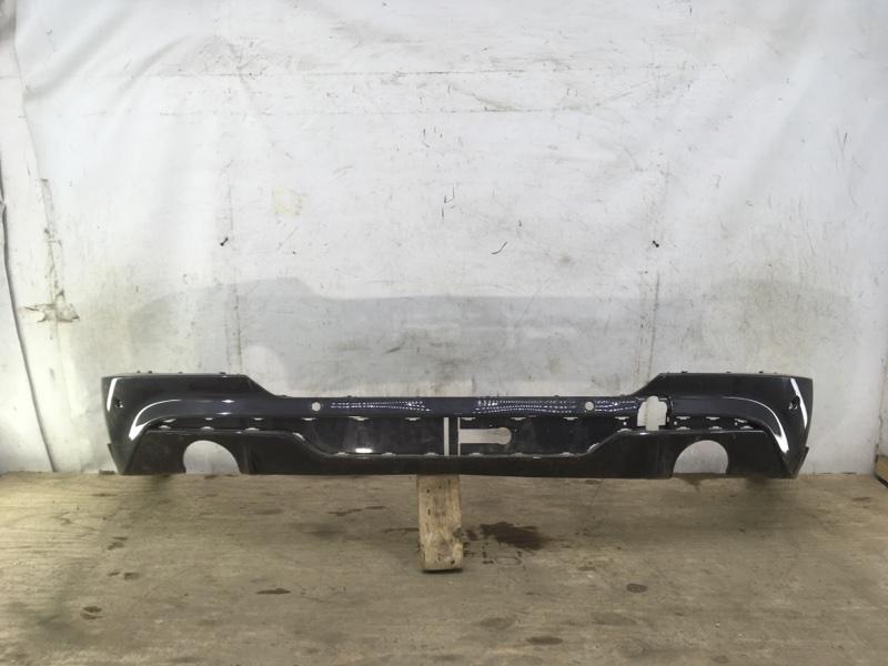 Юбка бампера Bmw X4 G02 2018 задняя