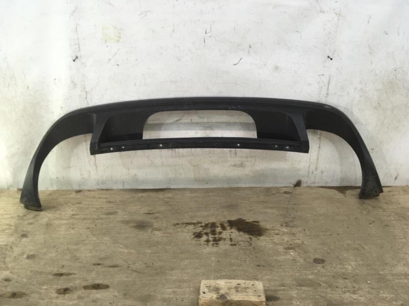Накладка бампера Volkswagen Touareg 2 2014 задняя