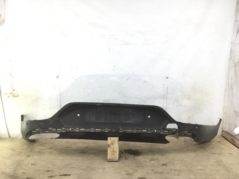 Юбка бампера Mercedes Glc X253 2015 задняя