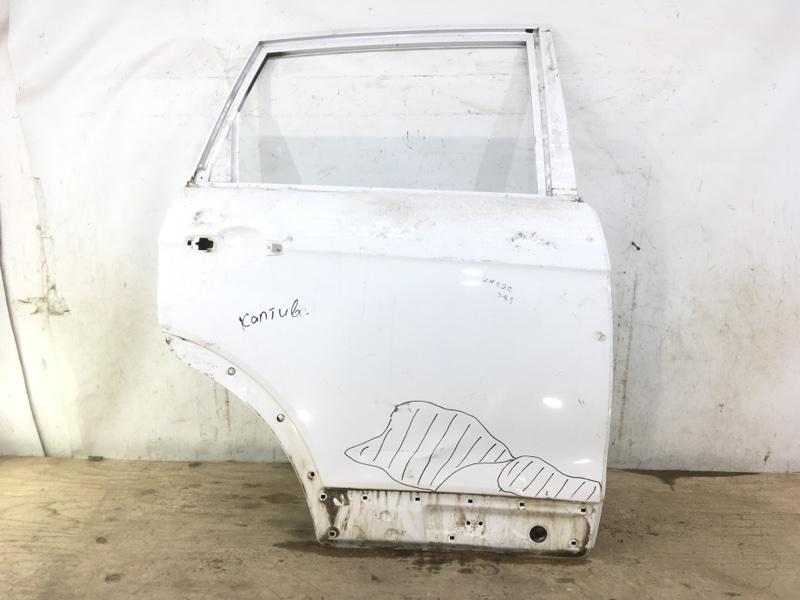 Дверь Chevrolet Captiva C100. C140 2006 задняя правая