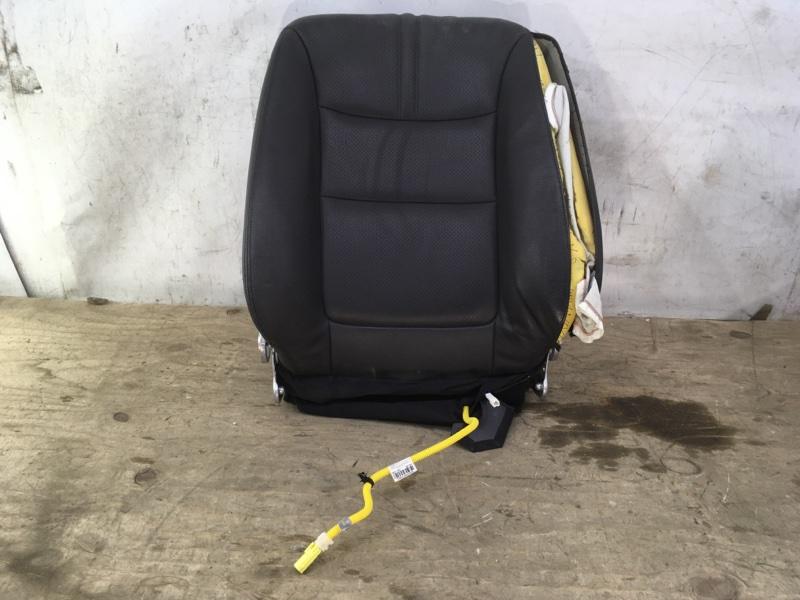 Спинка сидения Kia Sorento 2 XM 2009 передняя левая