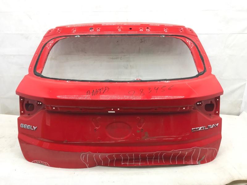 Крышка багажника Geely Coolray 1 2020