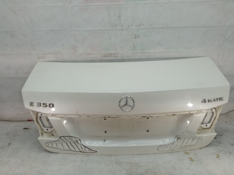 Крышка багажника Mercedes E W212 2009