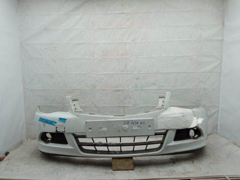 Бампер Nissan Almera 3 G15 2012 передний