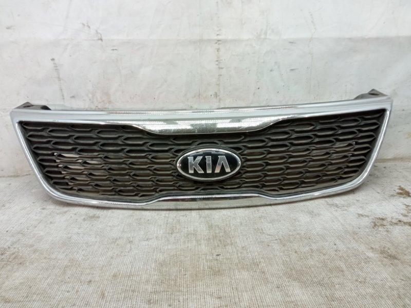 Решетка радиатора Kia Sorento 2 XM 2012