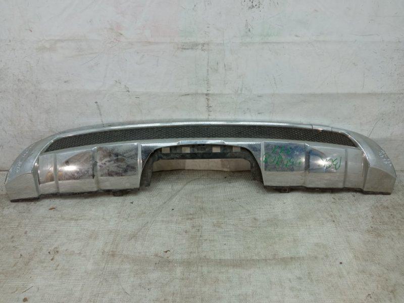 Накладка на бампер Mercedes Ml W166 2011 задняя