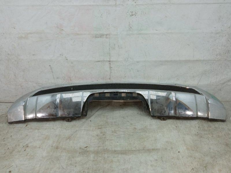 Накладка на бампер Mercedes Ml W166 2011 задняя нижняя