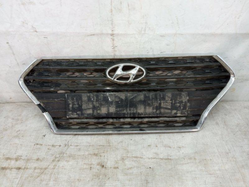 Решетка радиатора Hyundai Solaris 2 2017