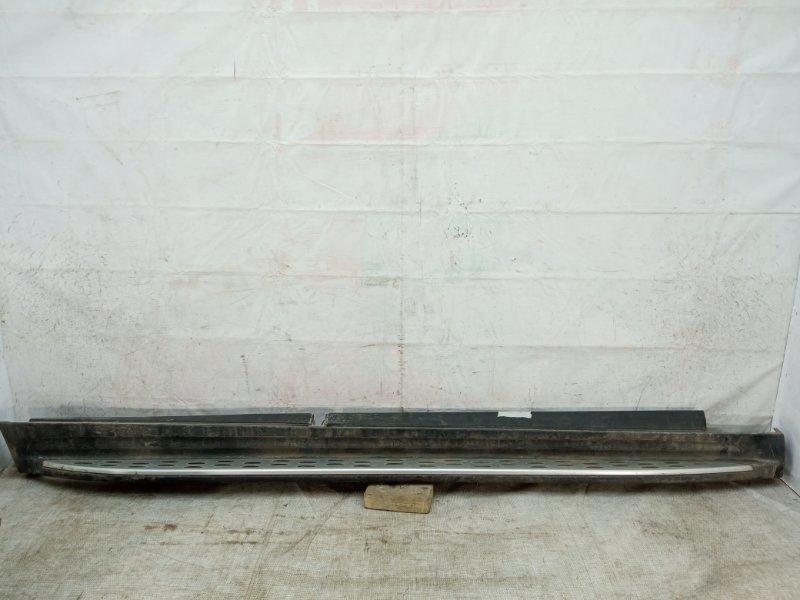 Накладка порога Mercedes Gl X166 2012 правая