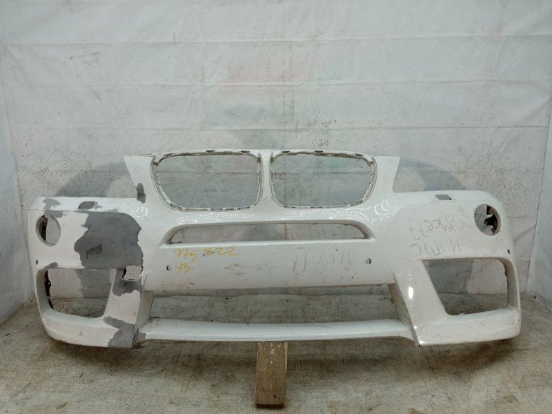 Бампер Bmw X3 M-Pacet F25 2010 передний