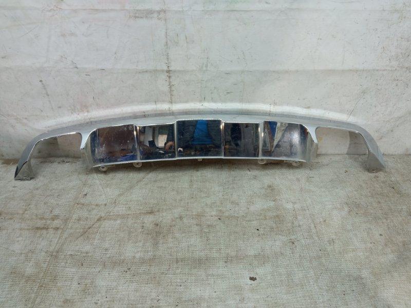 Накладка бампера Mercedes Glk X204 2012 задняя