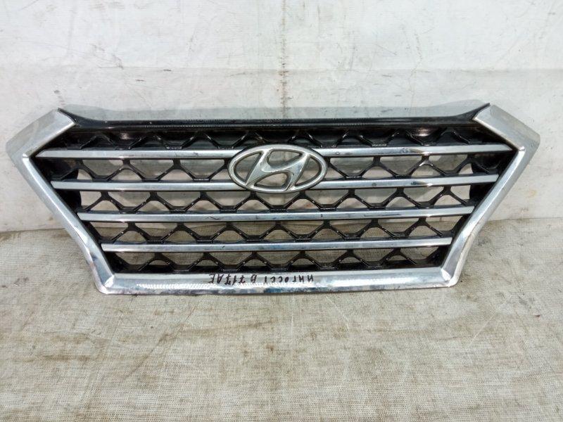 Решетка радиатора Hyundai Tucson 3 2018