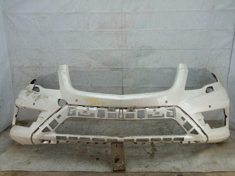 Бампер Mercedes Glk Amg X204 2012 передний