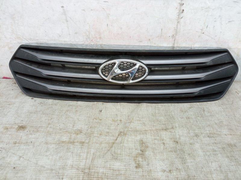 Решетка радиатора Hyundai Creta 1 2016 задняя нижняя