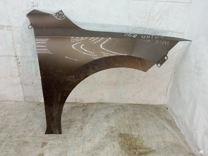 Крыло Skoda Rapid 2 2020 переднее правое