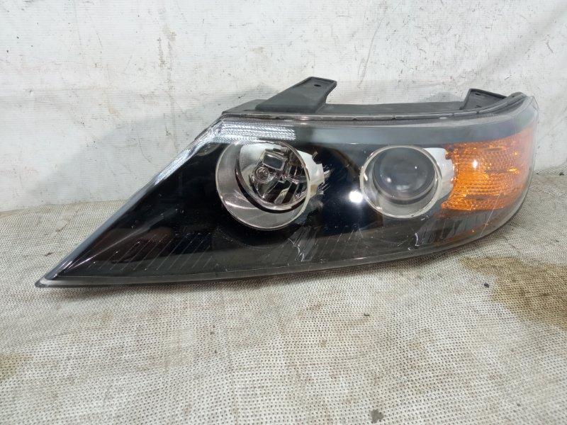 Фара ксенон Kia Sorento 2 XM 2009 передняя левая