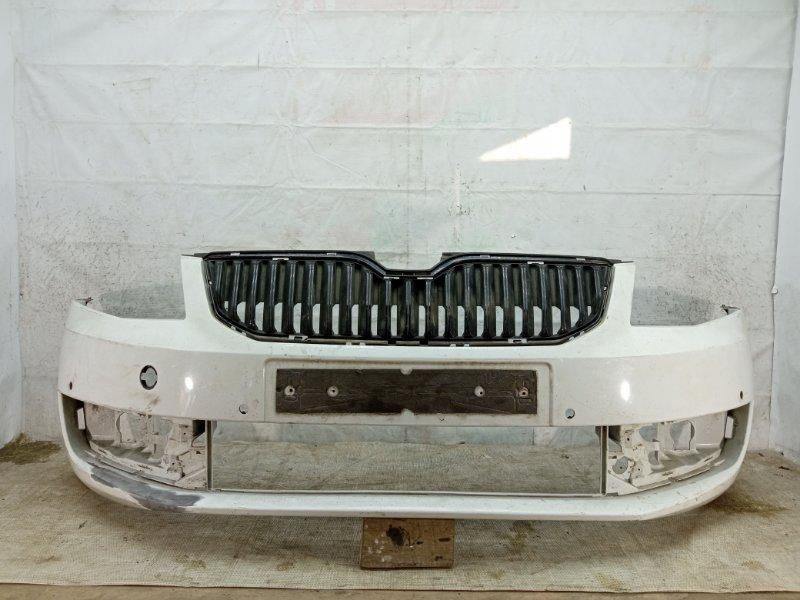 Бампер Skoda Octavia 3 A7 2013 передний