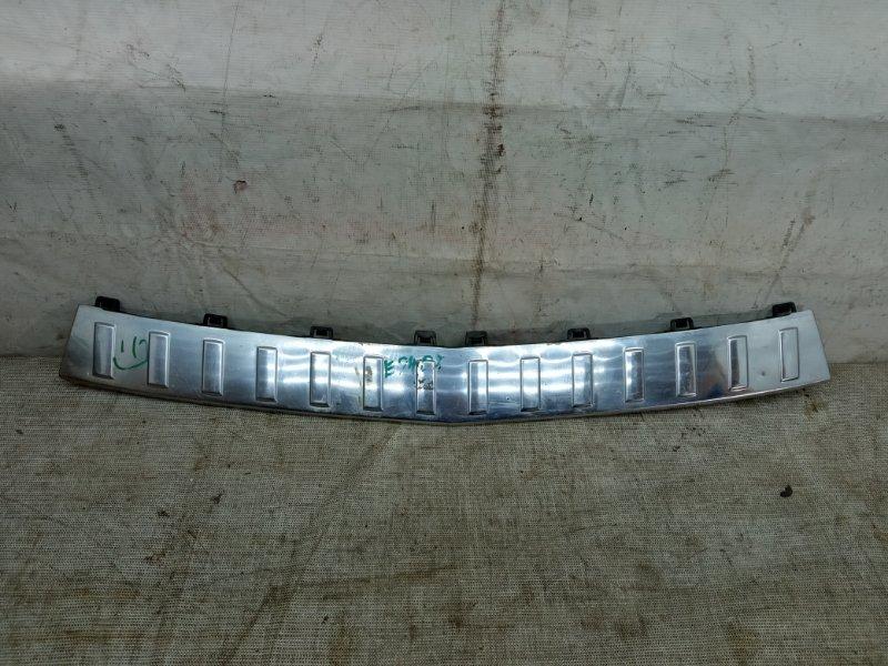 Накладка бампера Mercedes Glk X204 2008 задняя
