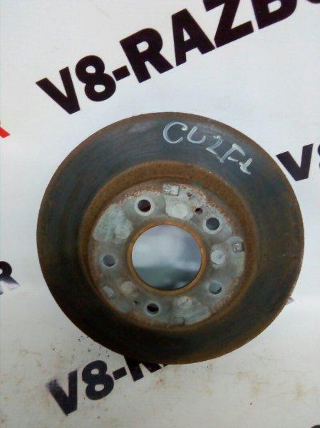 Тормозной диск Mitsubishi Airtrek CU2W 4G63T 2004 передний