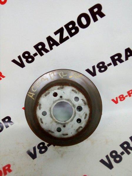 Тормозной диск Toyota Camry ACV30 2AZFE 2004 задний