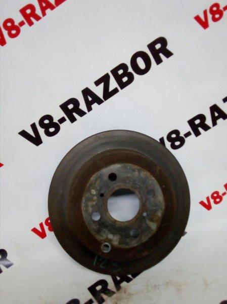 Тормозной диск Toyota Corolla Fielder ZZE123 2ZZGE 2002 задний