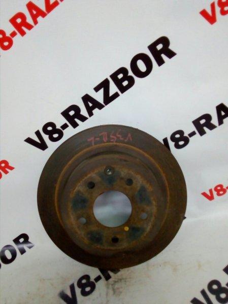 Тормозной диск Nissan Skyline V35 VQ25DD 2005 задний