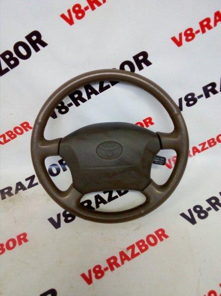 Аирбаг на руль Toyota Land Cruiser 100 J100 2UZFE 1998