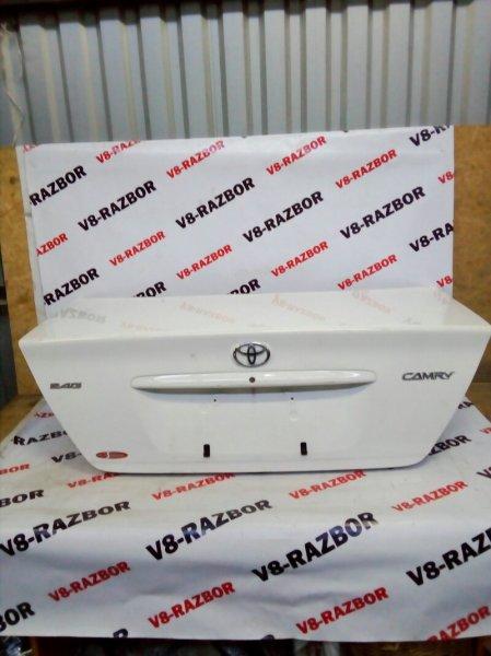 Крышка багажника Toyota Camry ACV30 2AZFE 2004