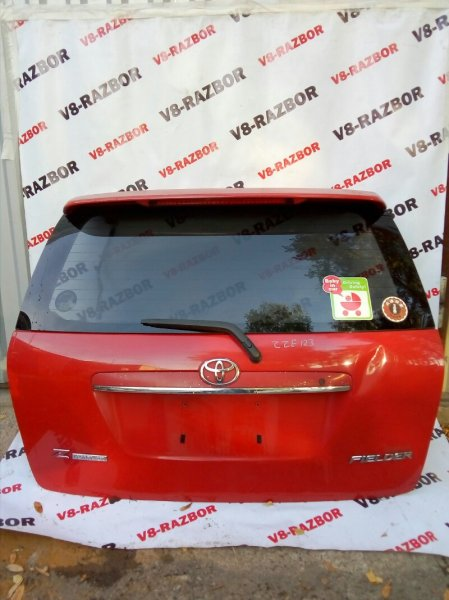 Дверь багажника Toyota Corolla Fielder ZZE123 2ZZGE 2002