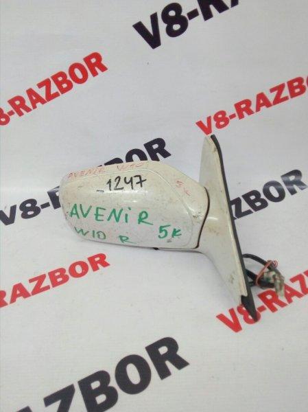 Зеркало Nissan Avenir W10 переднее правое