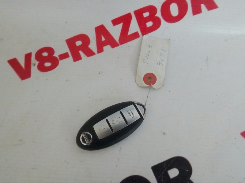 Ключ зажигания Nissan Teana J32 VQ25DE 2008