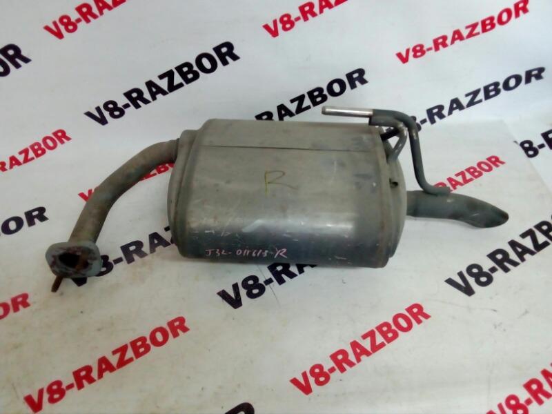 Глушитель Nissan Teana J32 VQ25DE 2008 правый