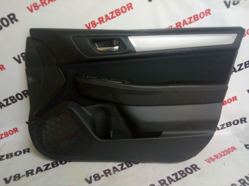 Обшивка двери Subaru Outback BS9 FB25 2018 передняя правая