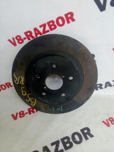 Тормозной диск Subaru Outback BS9 FB25 2018 задний