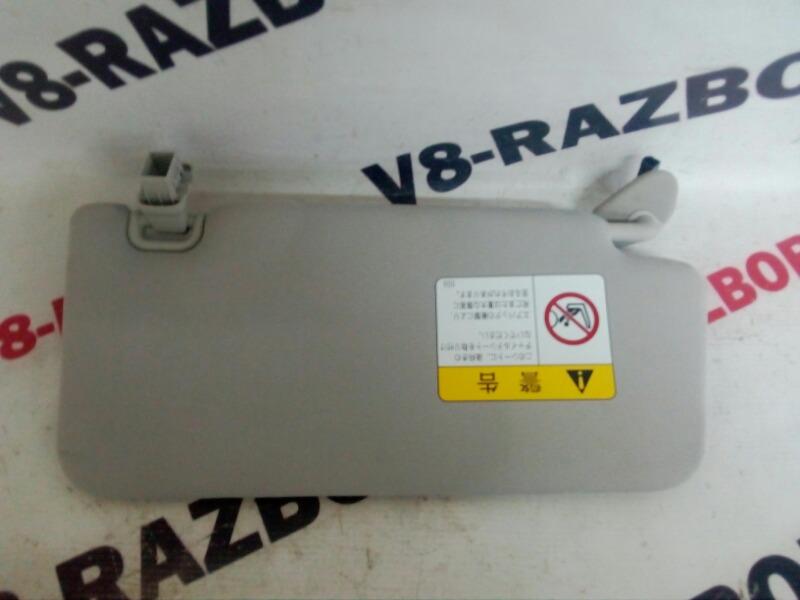 Козырек солнцезащитный Subaru Outback BR9 EJ253 2010 левый