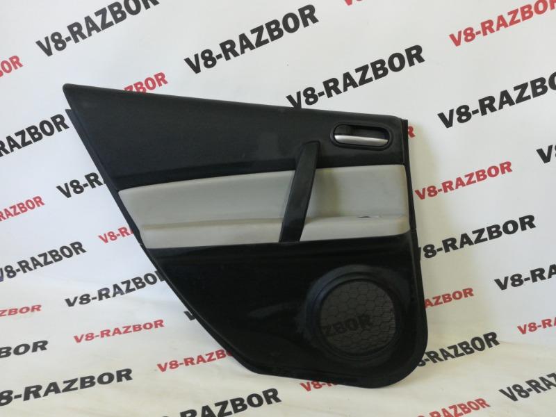 Обшивка двери Mazda Atenza GHEFP LF 2008 задняя левая