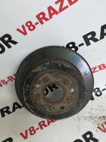 Тормозной диск Toyota Estima MCR40 1MZ-FE 2002 задний