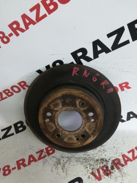 Тормозной диск Honda Stream RN6 R18A 2007 задний