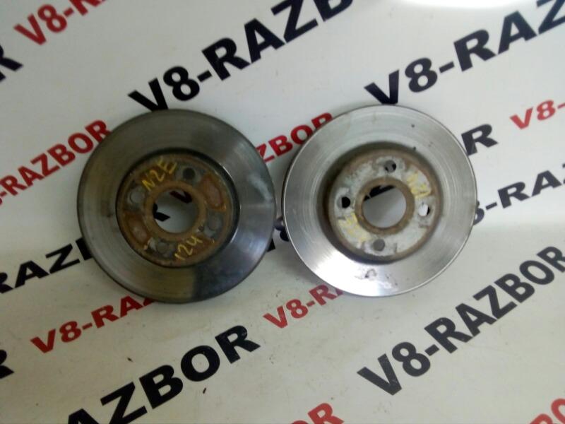 Тормозной диск Toyota Corolla NZE124 1NZ-FE 2001 передний
