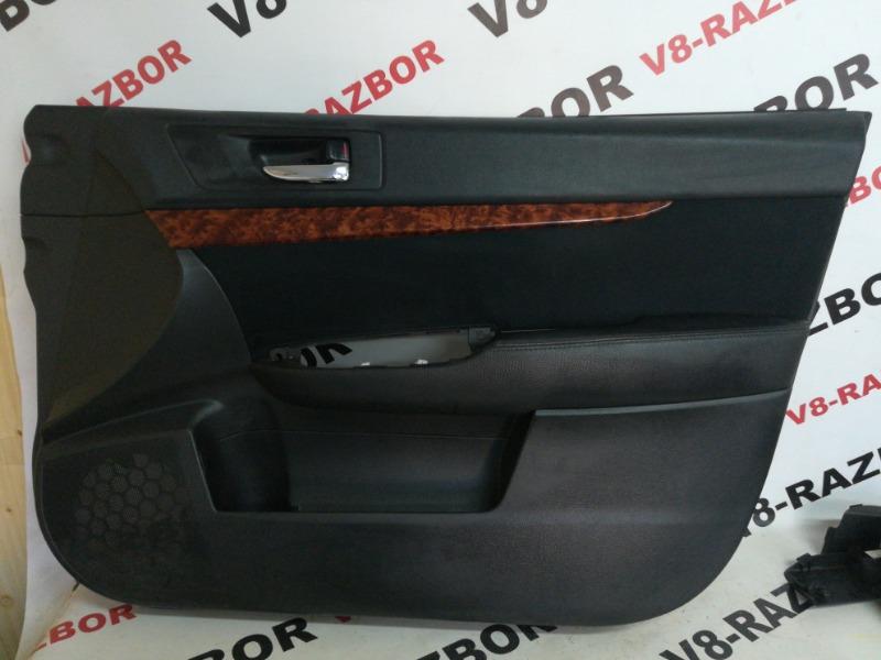 Обшивка двери Subaru Outback BR9 EJ253 2010 передняя правая